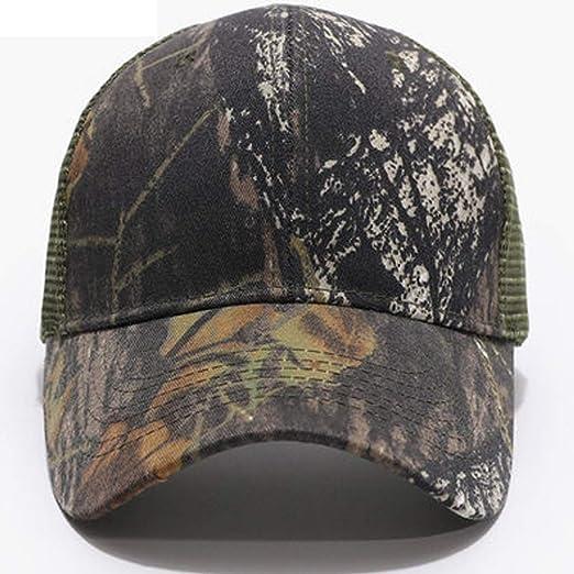 AZHom Malla Transpirable Cool Hat Camuflaje Visera Protección ...