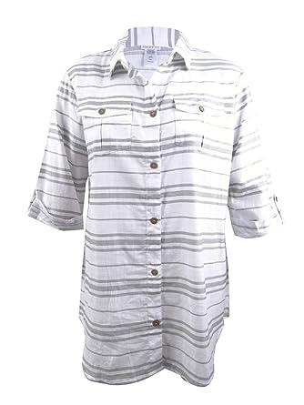 9337c09e59 Dotti Women s Cottons Shirt Dress Swim Cover up at Amazon Women s Clothing  store