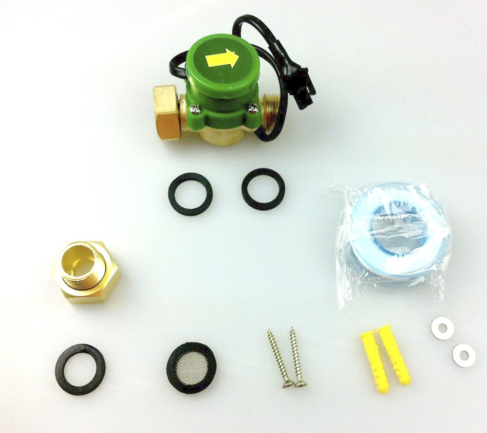 HSH-Flo Whole House Water Pressure Booster Pump with Stainless Steel Housing and Flow Switch (W10G-15B 90W) by HSH-Flo (Image #2)