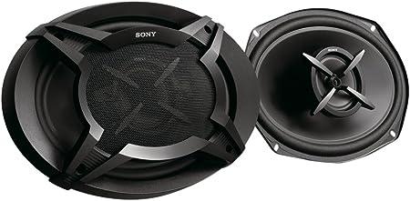 Sony XSFB6920E - Altavoces coaxiales (2 vías de 6 x 9, Potencia máxima 420 W, Potencia Nominal 60 W), Negro