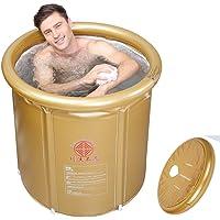 Sunjun& Bañera plegable, bañera inflable familiar para adultos