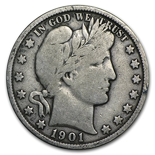 1901 Barber Half Dollar Fine Half Dollar Fine