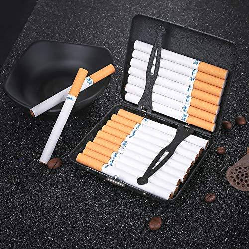 Uomo Portasigarette Sigarette Donna Per E 18 Regalo Metallo Fumatori I Scatola In Ideale Sigarette Hopewey Z18wAqA