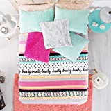 LIMITED EDITION DREAM BIG TEENS GIRLS CUTE COLLECTION LIGHT BLANKET VERY SOFTY FULL SIZE