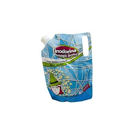 INODORINA Limpiador Líquido, Línea Magic Home, Fragancia a Menta, 1 litro