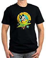 CafePress - Mighty Mouse: You'll B - Men's Fitted T-Shirt, Stylish Printed Vintage Fit T-Shirt