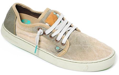 Satorisan - Zapatillas para hombre verde marrón 40 43 Marrón Size: EU 46: Amazon.es: Zapatos y complementos