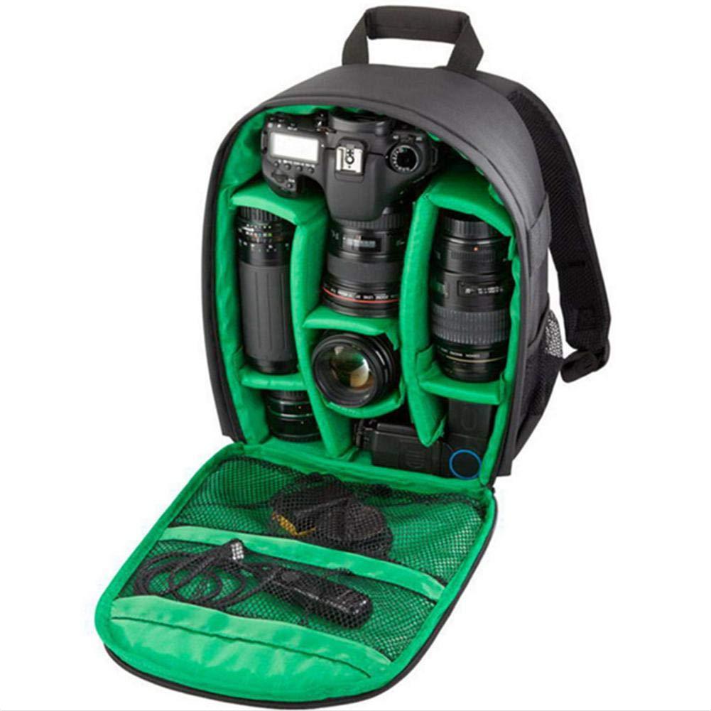 foyar SLR Camera Bag Camera Mochila Mochila Bolsa para Canon Nikon Sony Olympus y Equipo fotogr/áfico excellently