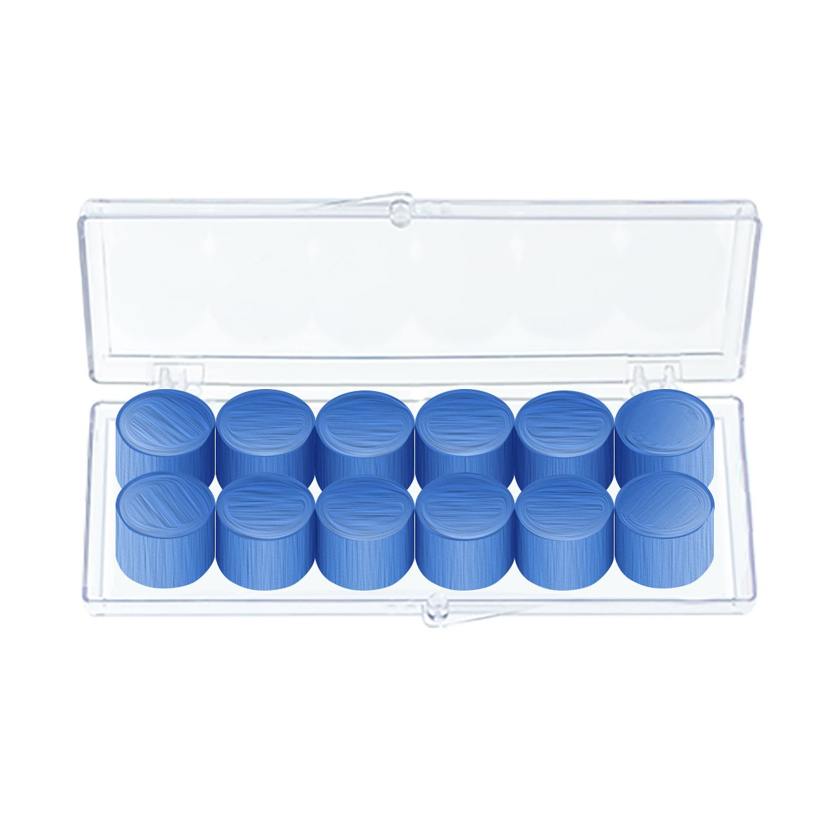 Mighty Plugs World's Finest Ear Plug---(6-Pair) Personal Pack,Blue,One Size Fits All