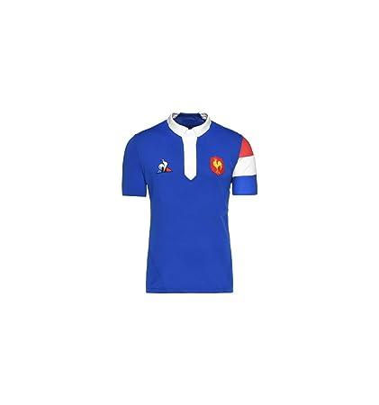 le coq Sportif FFR XV - Camiseta réplica para Mujer: Amazon.es ...