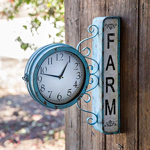 (Colonial Tin Works Farm Station Clock)