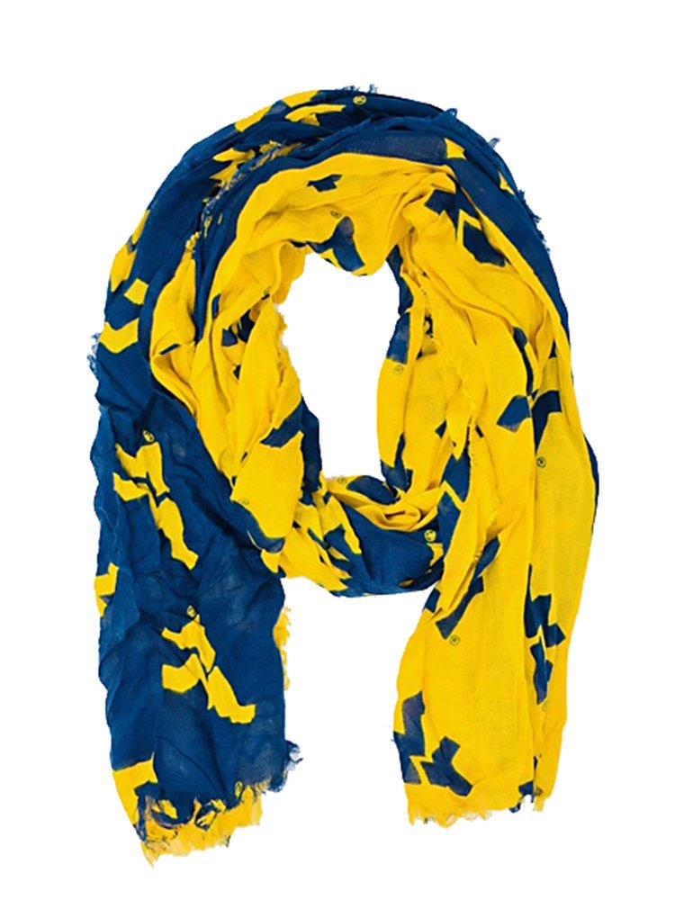 Purchadise NCAA Dual Color Oblong Scarf
