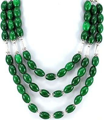Set of 3 necklaces bumblebee and Green Aventurine incl sun
