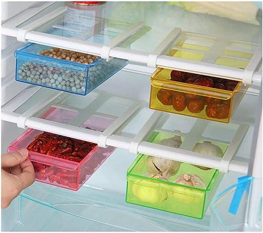 Cajas de plástico WJkuku multifuncionales de ahorro de espacio ...