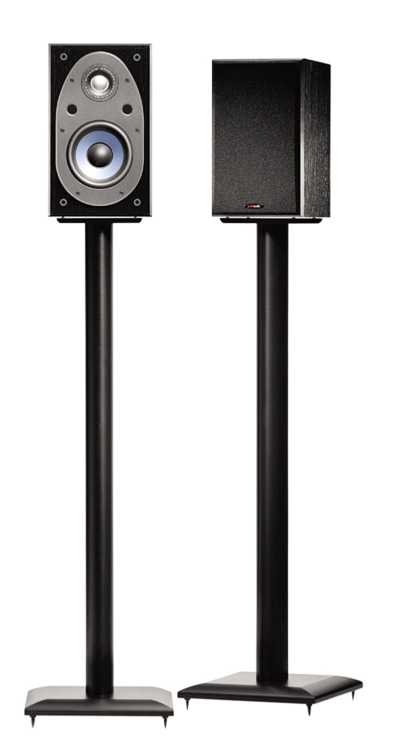Amazon Sanus NF36B 36 Natural Foundations Speaker Stand Black Electronics