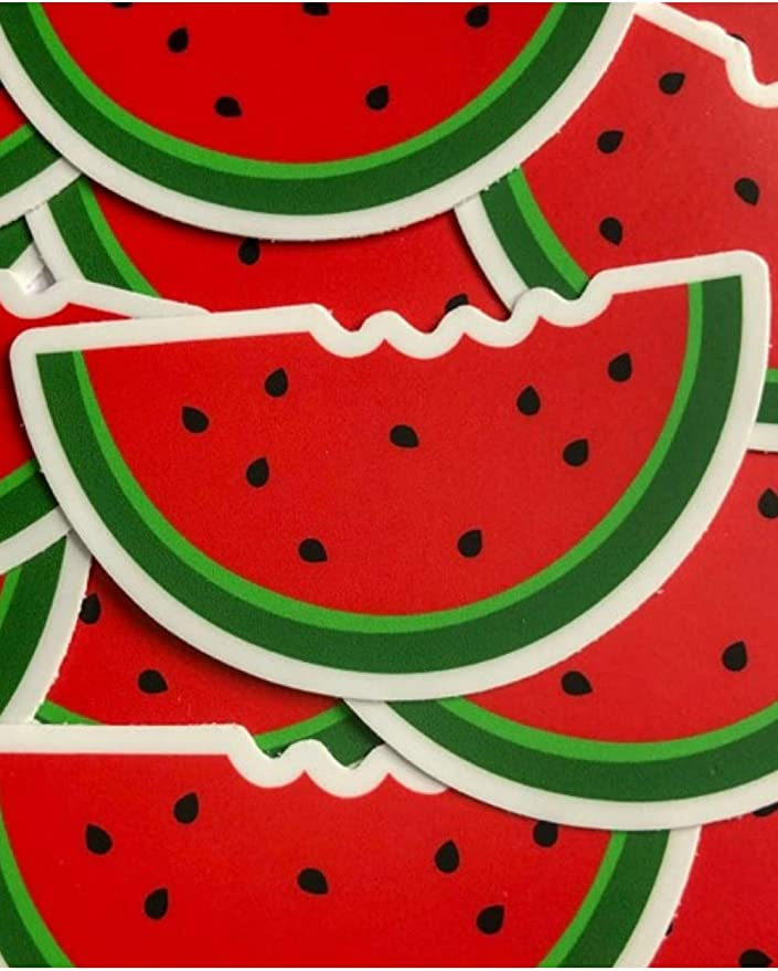 Laptop Sticker Car Decal Vinyl Decal Watermelon Vinyl Sticker