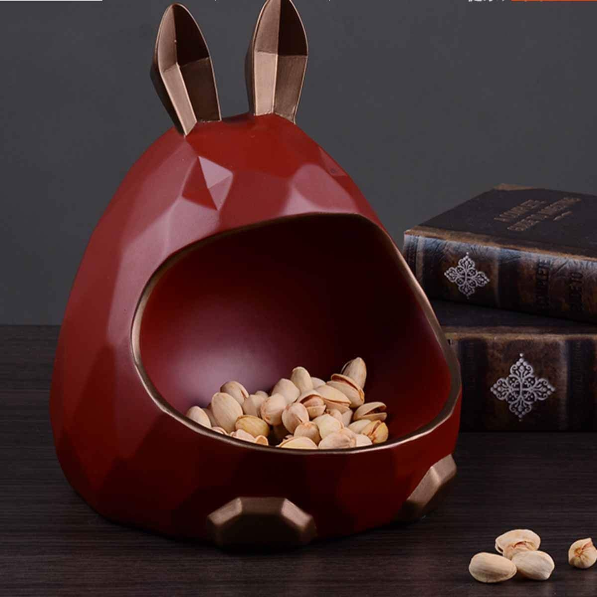 American Dried Fruit Plate Kaiyitong Fruit Plate Color : 5 Living Room Creative Home Youth Fashion Style,green Safety