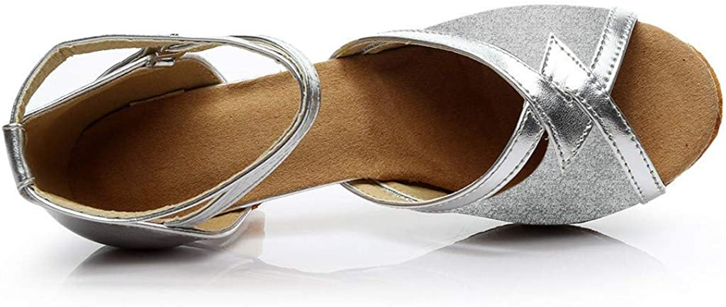 Frog Fun//Movers.Shakers Womens Solid Fashion Rumba Waltz Prom Ballroom Latin Salsa Dance Shoes Sandals