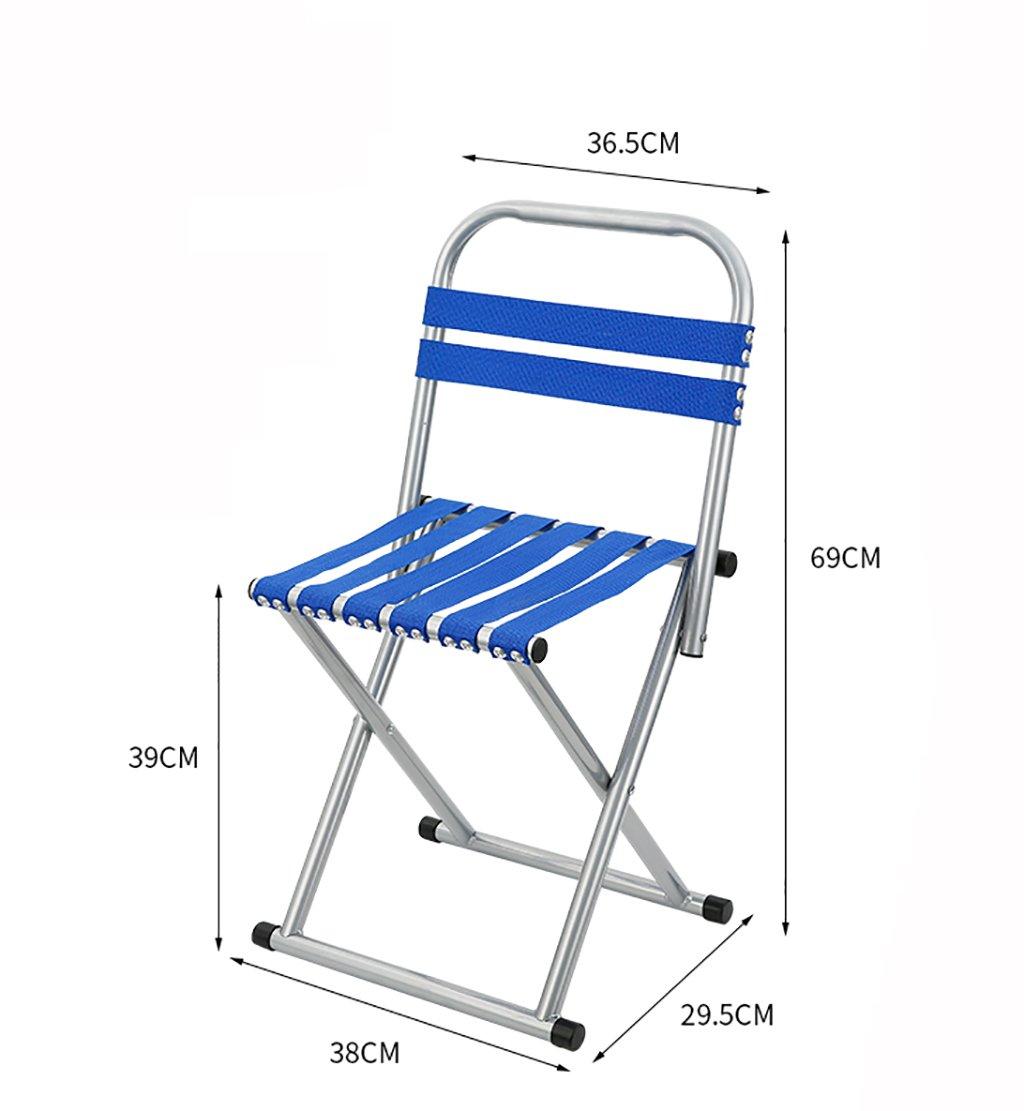 折りたたむ椅子 折りたたみスツールMazaスツール屋外ポータブル折り畳み椅子2つの色とサイズが利用可能です(サイズ:38 * 29.5 * 57センチメートル、38 * 29.5 * 69センチメートル) 折りたたみチェア (色 : D) B07C9MYZZK D D