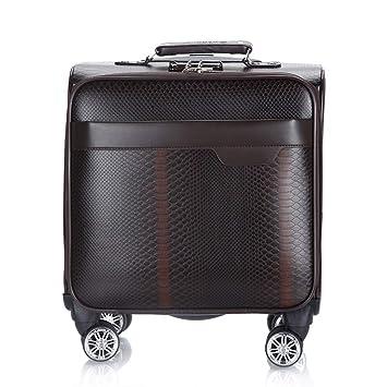 Maleta con ruedas para negocios con ruedas, compartimiento para computadora portátil, maletas de equipaje