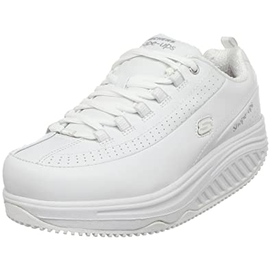 bd0bfa6aa7e8 Amazon.com  Skechers for Work Women s Shape Ups Slip Resistant ...