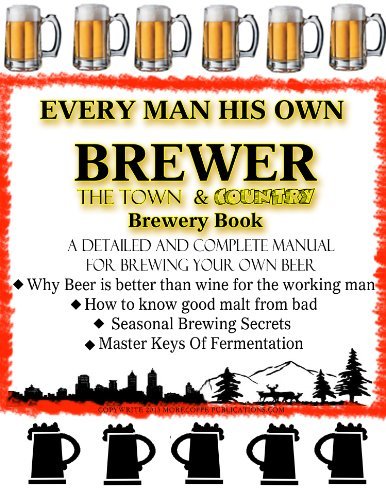 Homebrewed Beer for Town and Country | Brewing Beer for Health | Brew Beer Yourself
