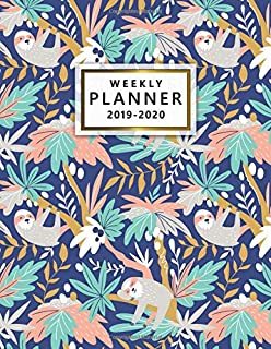 Make love Not War 2019-2020 Planner: Nifty Boho Hippie ...