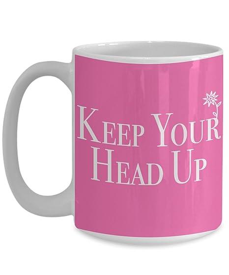 Amazon.com: Survivor taza. Mantén tu cabeza Up – Regalos ...