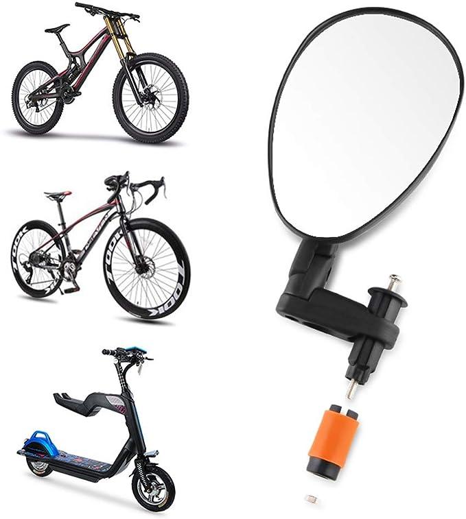 Espejo Retrovisor De Bicicleta - Espejo Ajustable De Ángulo Amplio ...