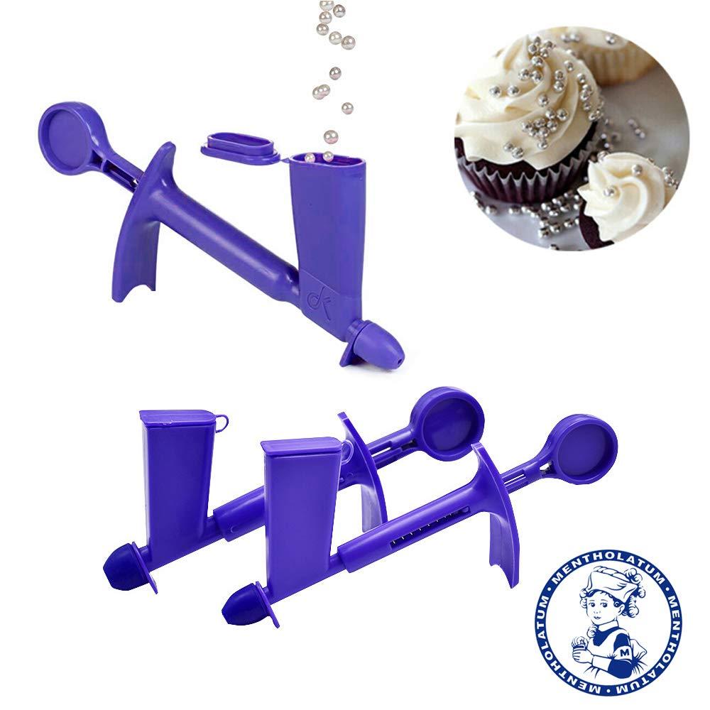 1pcs, Purple, S Plastic Pearl Applicator Fondant Cake Decorating Tool Pearl Ball Applicator Sugarcraft Cake Tools