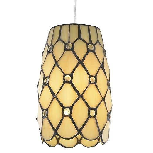 Tiffany jewel easy to fit lamp shade honey litecraft amazon tiffany jewel easy to fit lamp shade honey litecraft aloadofball Image collections