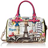 Nicole Lee Nicole Lee Europe Print Boston Shoulder Bag