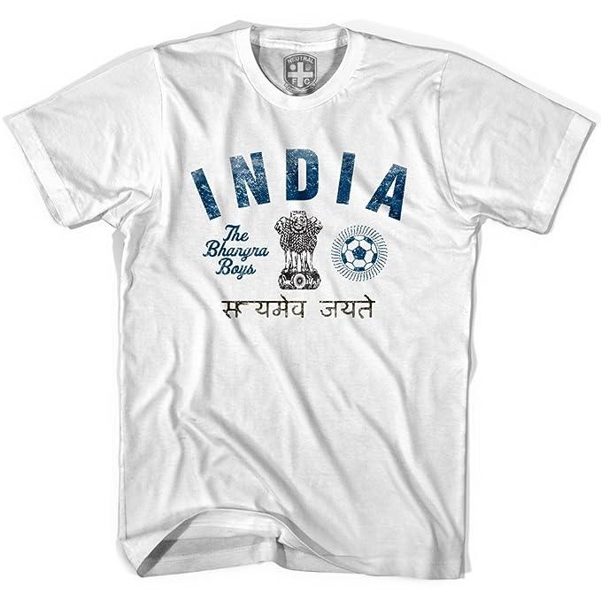 India bahgrin niños camiseta de fútbol gris Cool Grey Jovenetud S