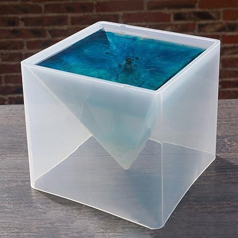 Somedays Molde de silicona para decoración de súper pirámide, 15 cm, molde de flores