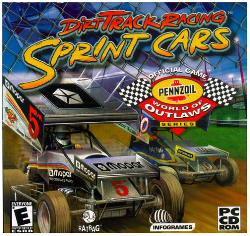 ATARI Dirt Track Sprint Cars (Jewel Case) - PC