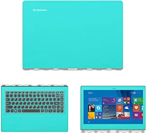 GADFLY Decal Wrap Skin Case for Lenovo Yoga 900 13 13.3-Inch Touch Laptop - Mint Green