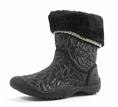 Womens Walnut Cap Toe Mid-Calf Fashion Boots