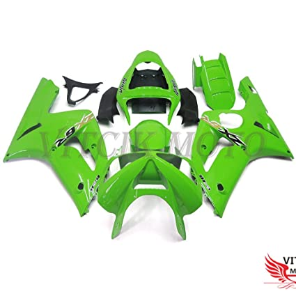 Amazon.com: VITCIK (Fairing Kits Fit for Kawasaki ZX6R ZX-6R ...