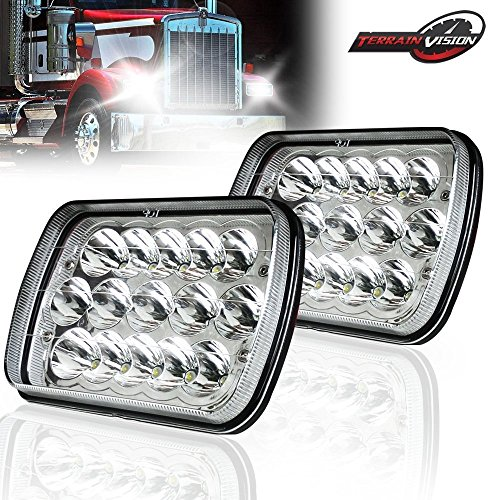 7x6 led halo headlights - 2