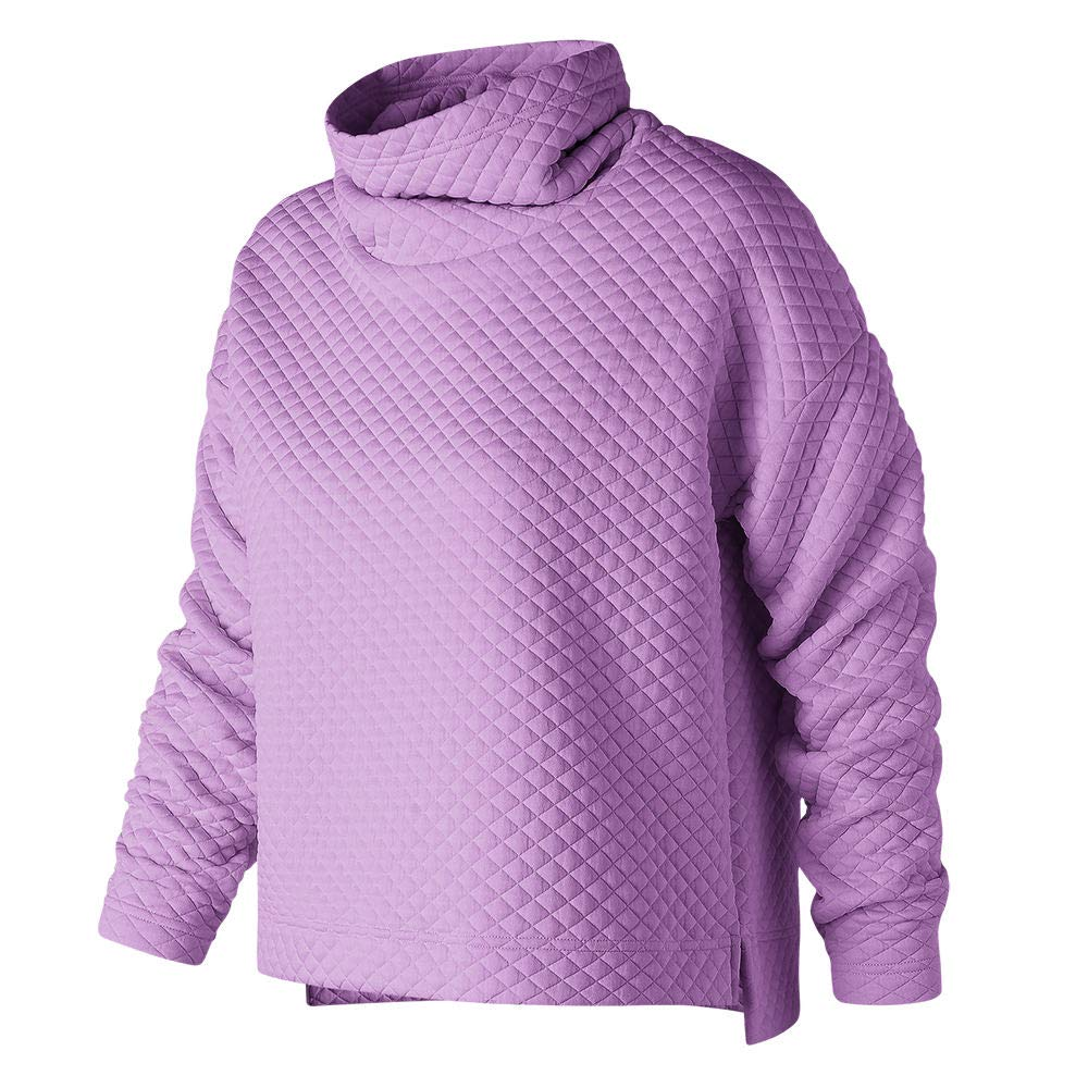 New Balance Womens Nb Heat Loft Funnel Sweater