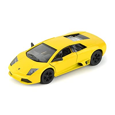 Lamborghini Murcielago LP640, Yellow - Kinsmart 5317D - 1/36 scale Diecast Model Toy Car: Toys & Games