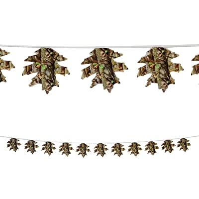 Leaf Banner Decoration (12ft.) Hunting Camo Party Collection by Havercamp: Kitchen & Dining [5Bkhe0304990]