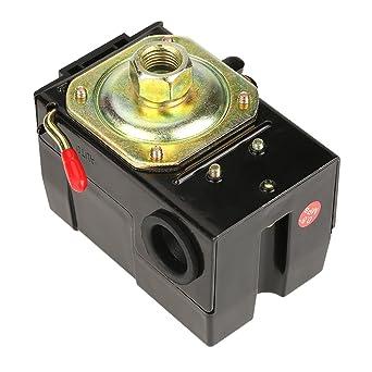 Akozon Interruptor de presión universal 1 PC 95-125 Psi para la válvula de control