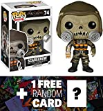 Scarecrow: Funko POP! x Arkham Knight Vinyl Figure + 1 FREE Official DC Trading Card Bundle [62910]