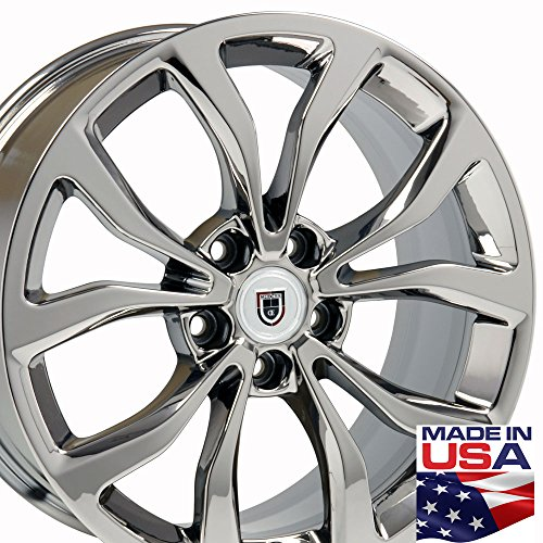 chrome cadillac rims - 5