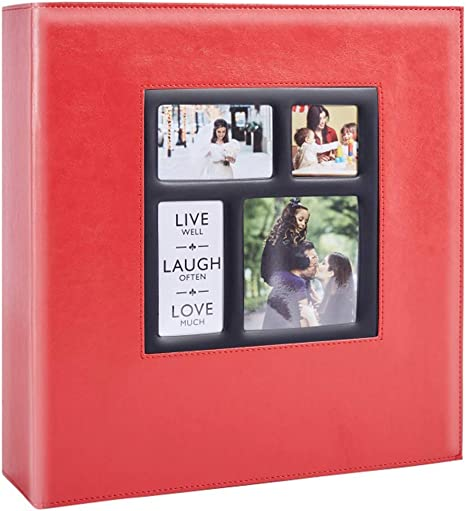 Extra Large Capacity Vintage Leather Cover Family Wedding Photo Albums That Holds 1000 4x6 Photos Beige Ywlake Photo Picture Album 4x6 1000 Pockets Croco