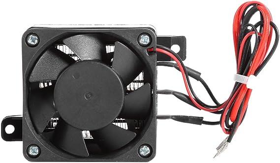 100W 12V DC PTC Fan Heater Constant