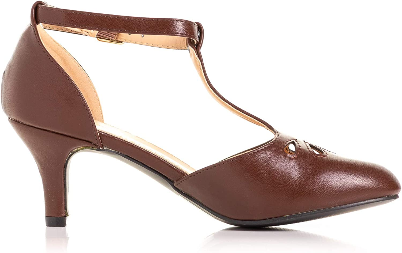 Vintage 1920s Flapper Costume Swing Ballroom Dance Shoes Heels 6 7 8 9 10 11