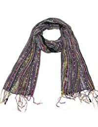Lovarzi Women's Colourful Scarf - Versatile and dazzling scarf for women