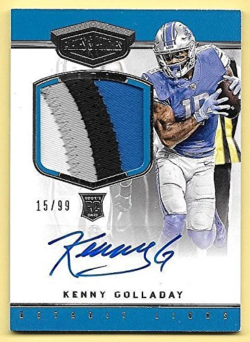 2017 Plates & Patches #210 Kenny Golladay 4 Color